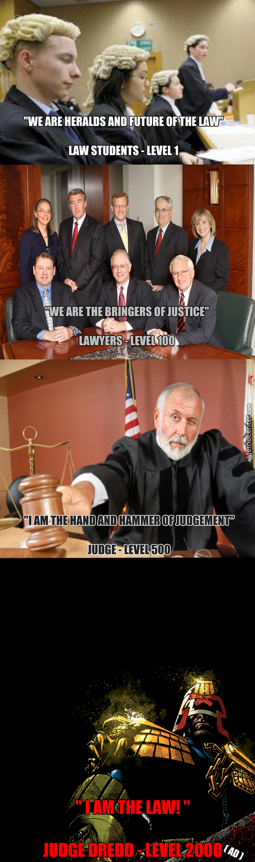 Justice System Levels