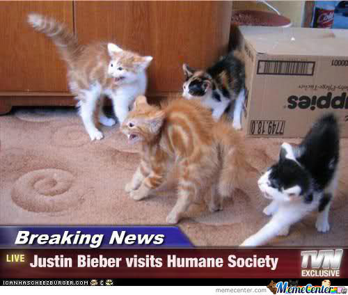 Justin Beiber Breaking News