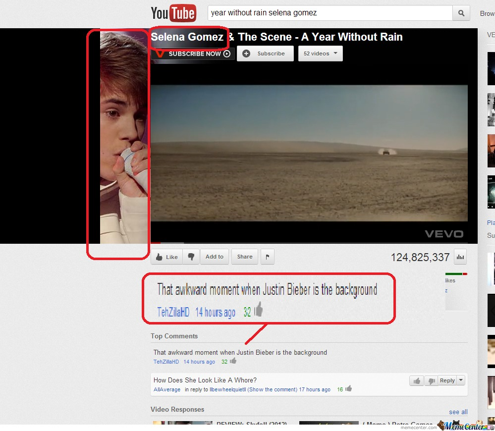 Justin Bieber And Selena Gomez Fail!