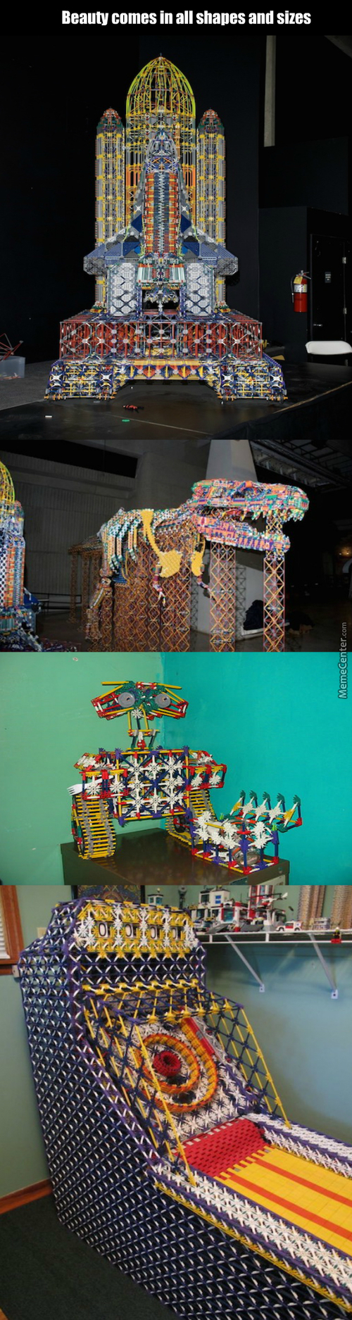 K'nex Creations Only Asians Can Do