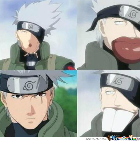 Kakashi S Many Faces By Minniestrachan Meme Center