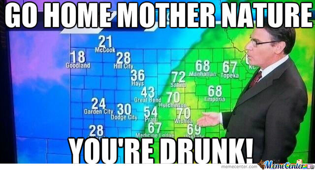 (Kansas) If You Don't Like The Weather Just Wait An Hour.