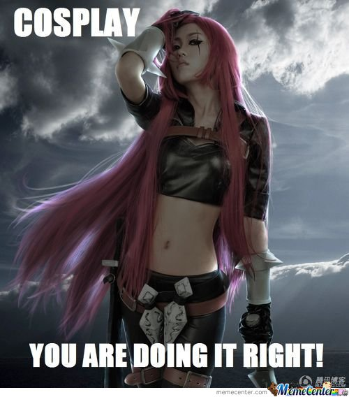 Katarina Cosplay - You Are Doing It Right !