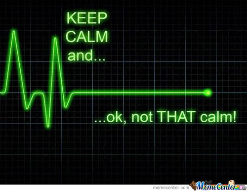 Keep Calm And Well