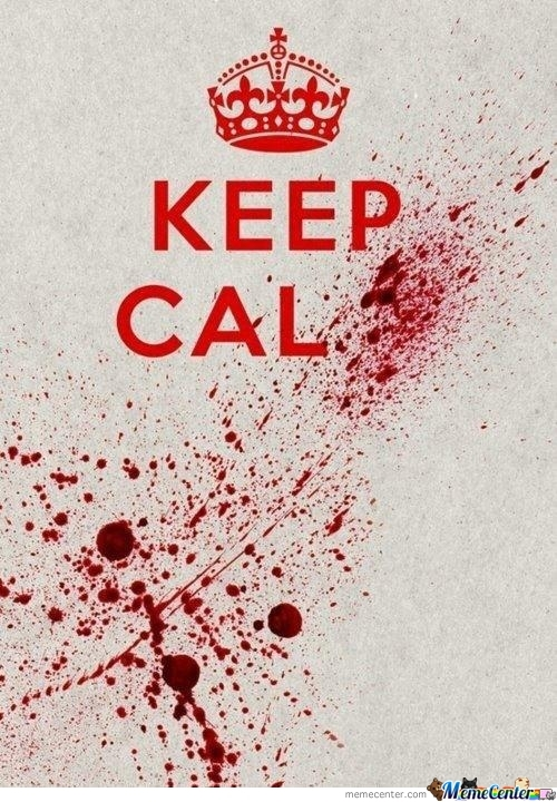 Keep Calm In The Apocalypse