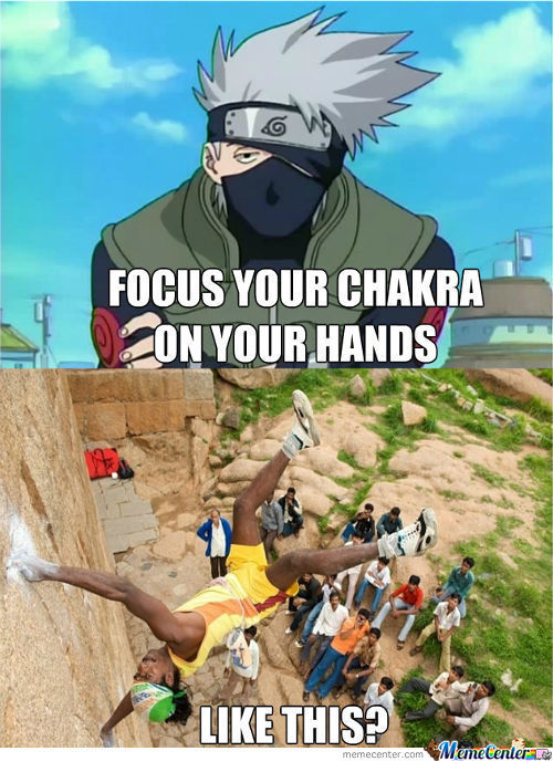 Keep Practicing And You Can Then Become The Hokage