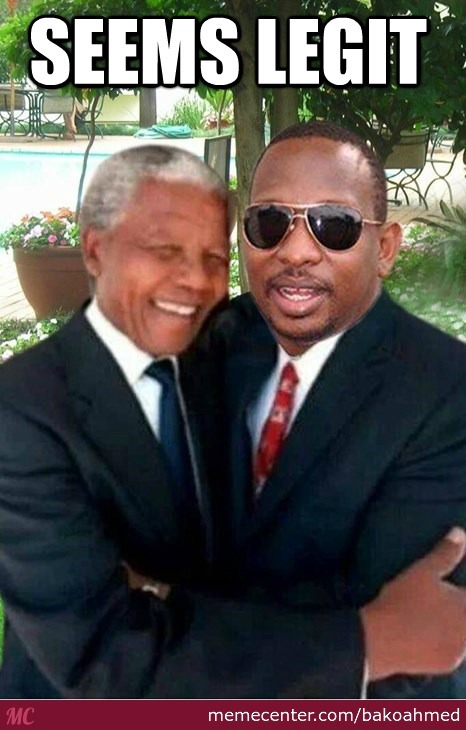 Kenyan Senator Mike Sonko Posted This On His Official Facebook Page.