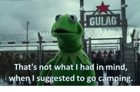 Kermit Going To The Ussr