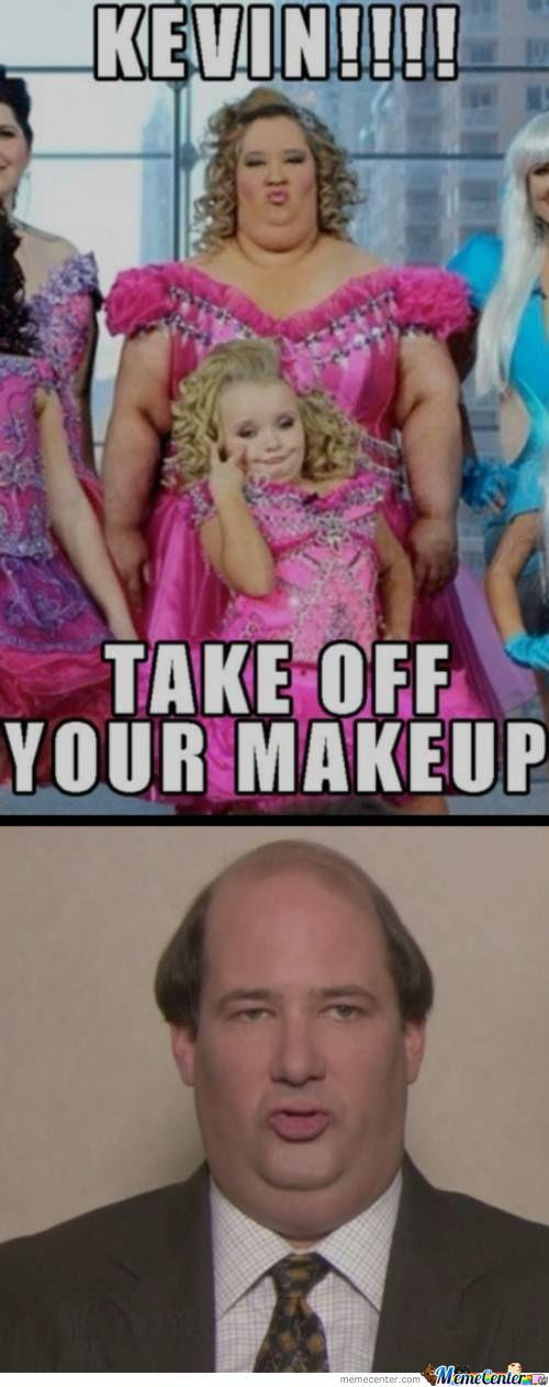 Kevin + Makeup = Honey Boo-Boo's Mom