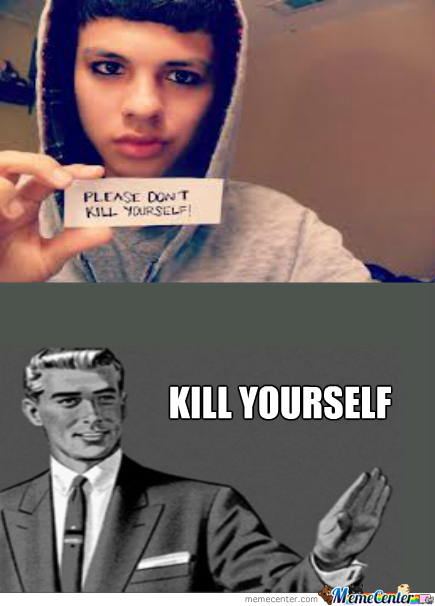 Kill Yourself Faggot