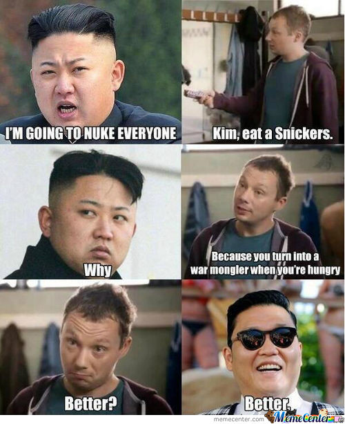 Kim Eat A Snickers