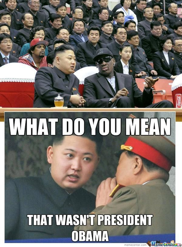 Kim Jong And Dennis Rodman
