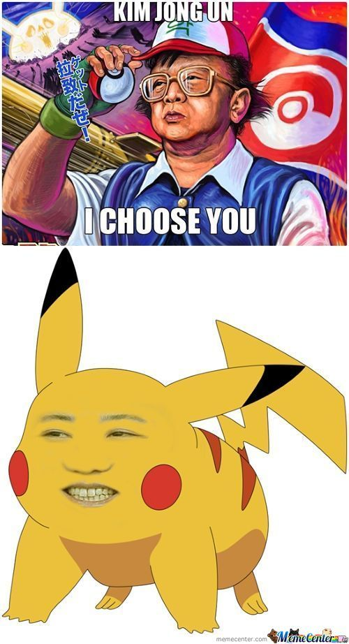 Kim Jong Un I Choose You