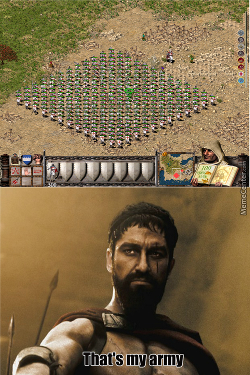 King Leonidas In Stronghold