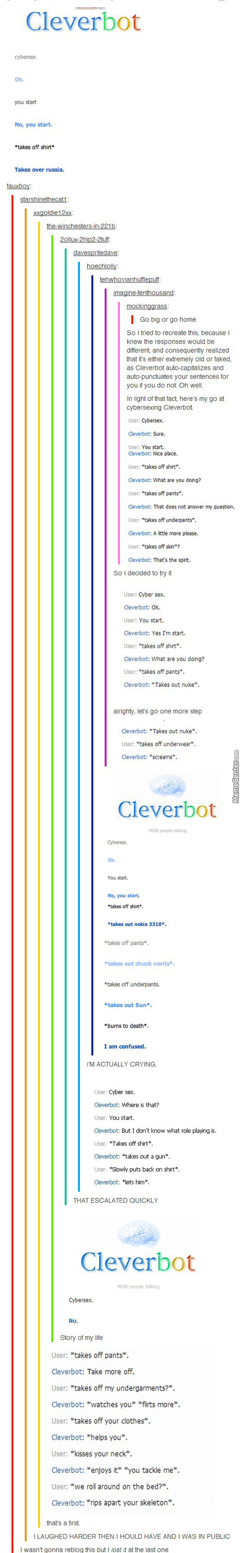 Kinky Cleverbot