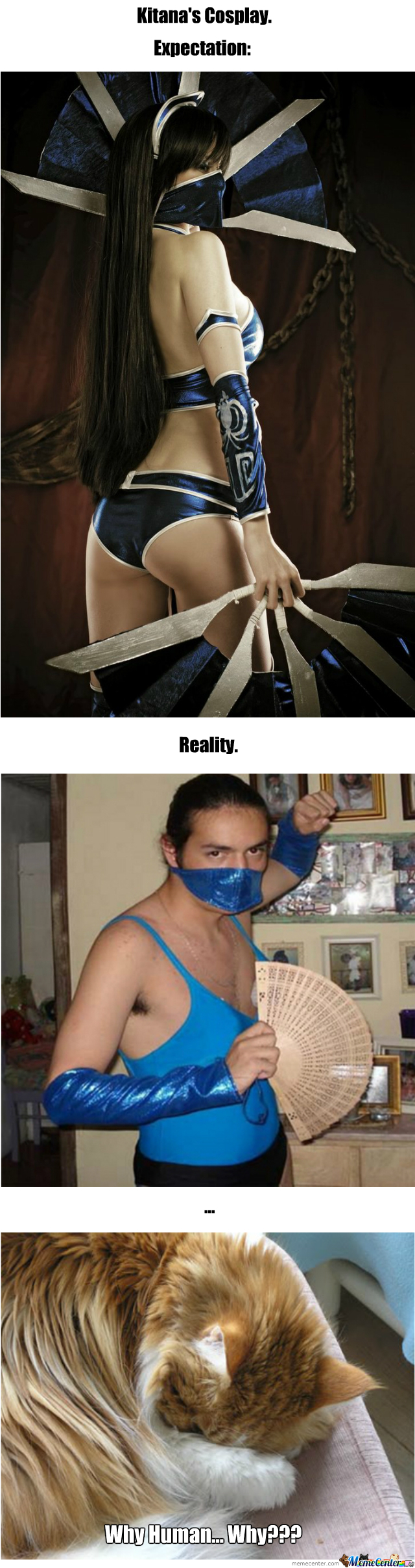 """Kitana Cosplay! From Awesome To """"zthat?"""""""
