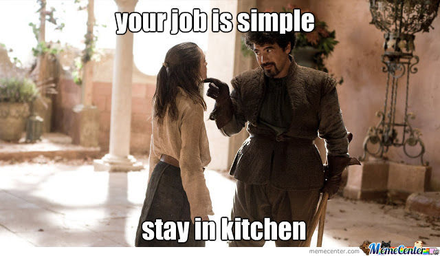 Kitchen Job Only For Women By Ahmed Harati 7 Meme Center
