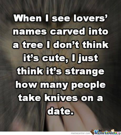 Knife On A Date