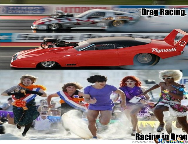 Know The Difference...Drag Racing