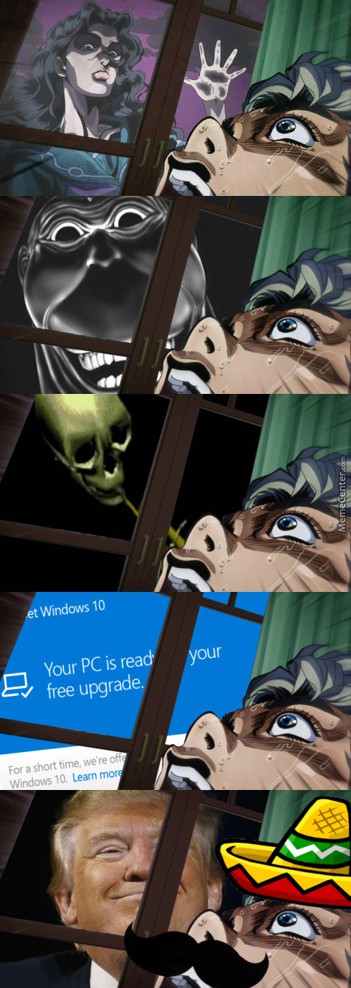 Koichi Gets Spooped By His Window.