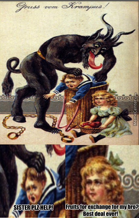 Krampus Be Dealin