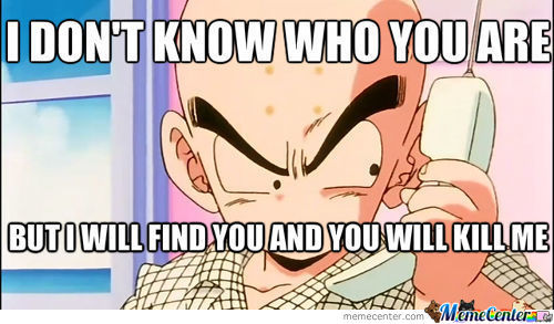 Krillin Lacks Something