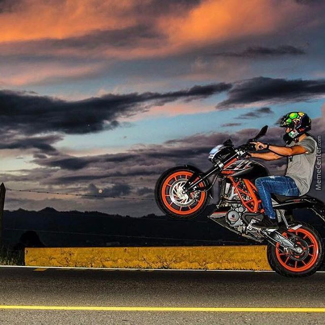 Ktm Duke 390 By Clarkrandall Meme Center