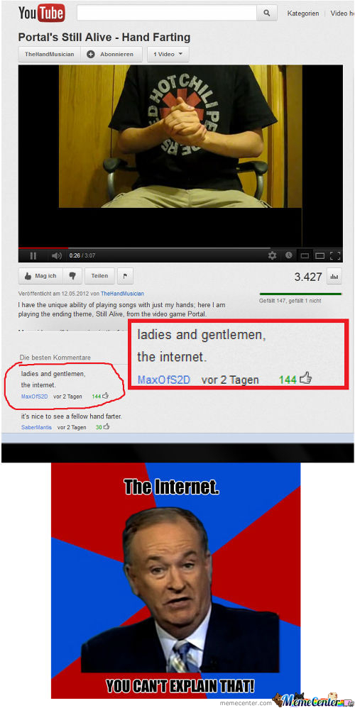 Ladys And Gentleman..... The Internet!