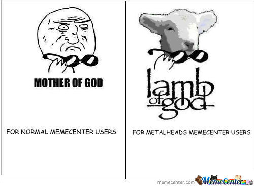 Lamb Of God Meme