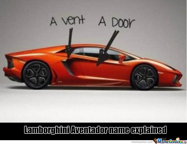 Lamborghini Aventador Explained By Yakshi Meme Center