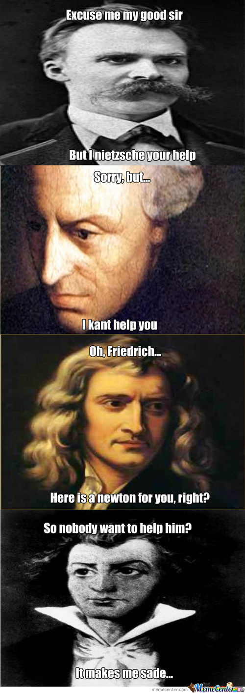 Lame Puns From Philosophers.