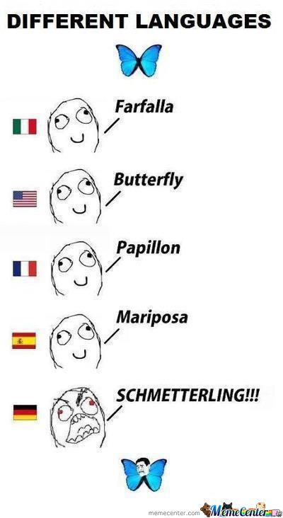 Language Differences (Yeah Germany Again)