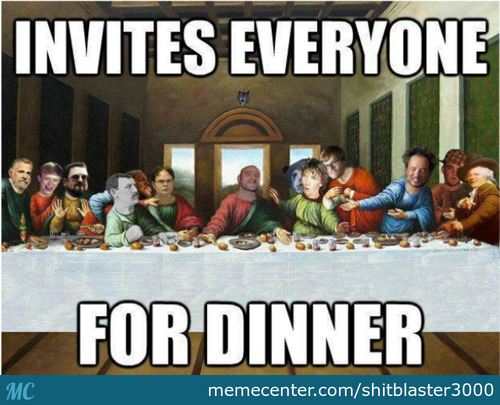 Last Meme Supper.