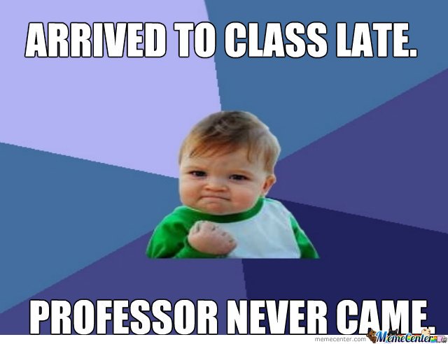 Late To Class