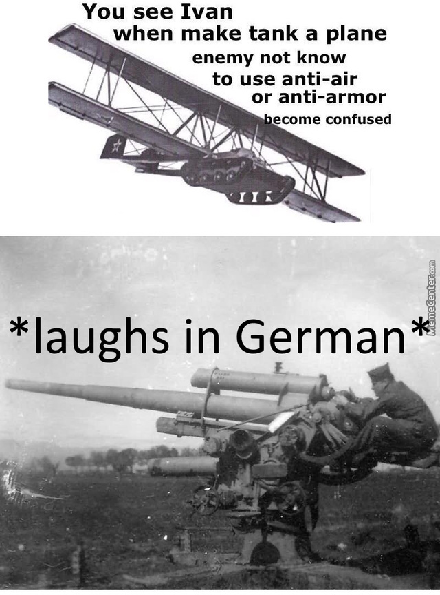 *laughs In Airburst Shells*