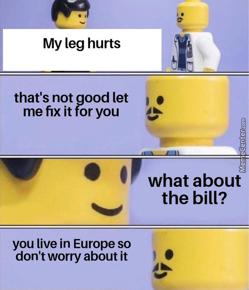 Laughs In European