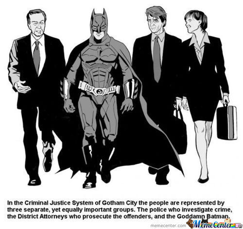 Law And Order Batman