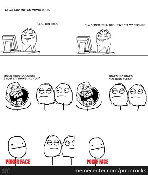 Le Simple Rage Comic 1