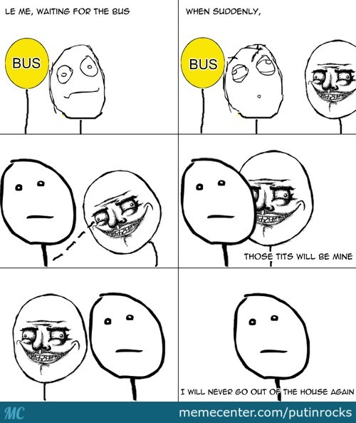 Le Simple Rage Comic 3