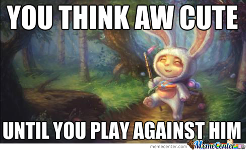 league o f legends teemo bunny meme_o_2423173 league o f legends teemo bunny meme by maartenb1000 meme center,Leagueoflegends Meme