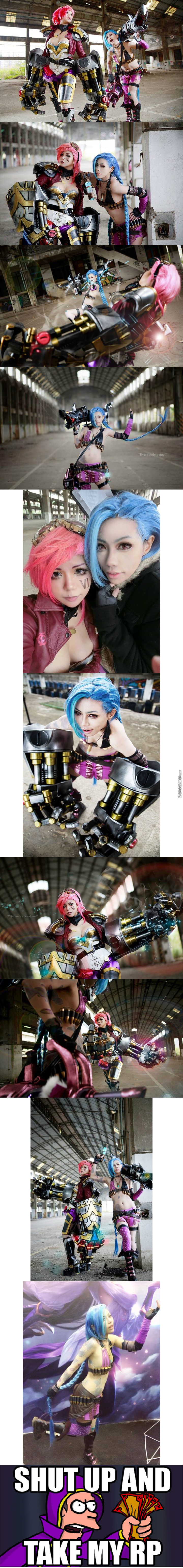 League Of Legend Cosplay.. Also League > Loli