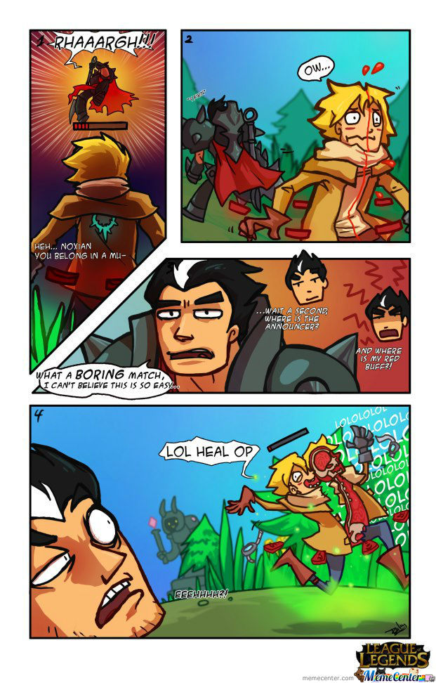 League Of Legends Comic 5