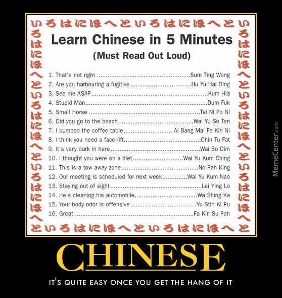 Learn Chinese by zararc - Meme Center