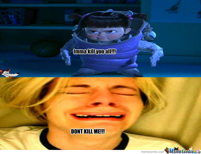 Leave Monsters Inc Alone By Recyclebin Meme Center