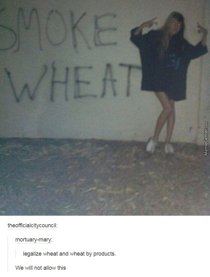 Legalize Wheat