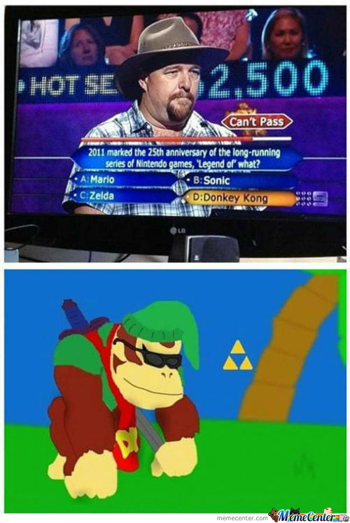 Legend Of Donkey Kong