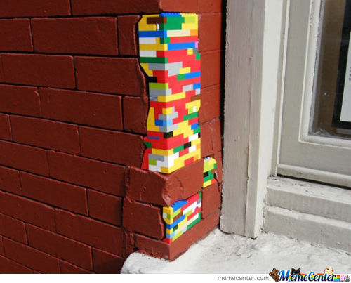 Lego Better Than Duct Tape