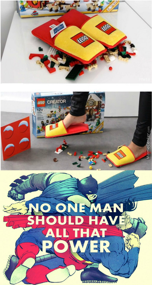 Lego Has Just Created Anti-Lego Brick Slippers!