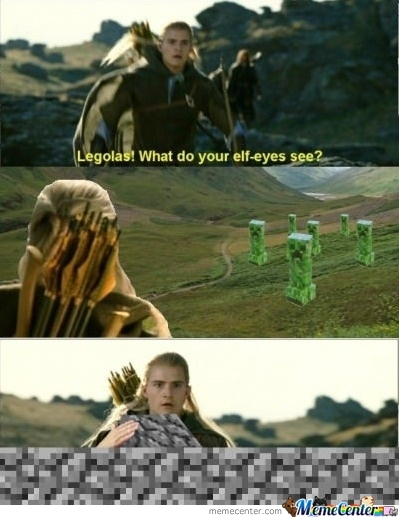 Legolas What Do You See?!