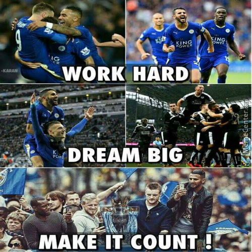 Leicester City Are The Champions Of Premier League For The Season Of 15/16!!! What A Story, What A Team!